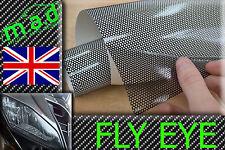 60cm X 106 Cm Perforada Fly Malla Faros película Ojo Visión Coloración película Jap euro