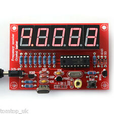 Crystal Oscillator Frequency Counter Meter 1Hz-50MHz Digital LED PIC DIY Kits