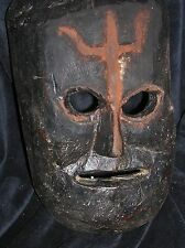 orig $199-NEPAL RITUAL SHAMAN MASK, EARLY 1900S 12""