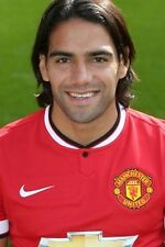 Football Photo RADAMEL FALCAO Man Utd 2014-15