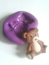 Teddy Bear Silicone Mould 23 mm Sugarcraft Icing Cake Decorate Icing Fondant