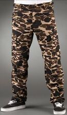 CARHARTT pantalon AVIATION PANT COLUMBIA Camo Isle W32L32 Rinsed