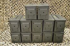 * 12 PACK * 50 Cal M2A1 AMMO CAN **VERY GOOD CONDITION** FREE SHIPPING ***