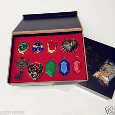 The Legend of Zelda Necklace keychain Pendant 9pcs Set Collection New in Box B