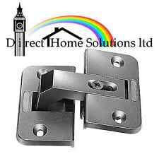 PIE CUT 150 DEGREE CORNER DOOR HINGE - CONCEALED 35MM CUP