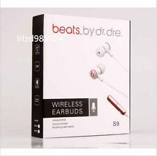 Earphone Beats Wireless Bluetooth 4.0 Headset Earbud iPhone Samsung HTC LG white