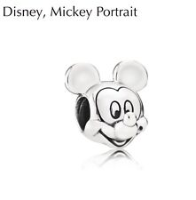 AUTHENTIC PANDORA DISNEY MICKEY S925 ALE STERLING SILVER CHARM #791586