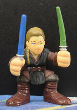 Star Wars Galactic Heroes Anakin Skywalker Green Blue Dual LIghtsaber Loose 2001
