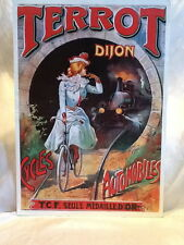Terrot Dijon Cycles Automobile Auto Bicycle Cycles Mounted Poster Print