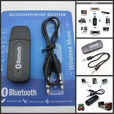 USB Wireless Bluetooth 3.5mm Music Audio Stereo Receiver Adapter Dongle Aux