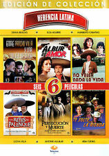 Herencia Latina: 6 Peliculas (DVD, 2013, 2-Disc Set)
