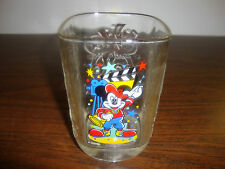 "Mickey Mouse Glass---McDonalds---Director---4 1/2"" Tall---2000"