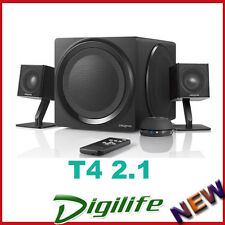 CREATIVE T4 2.1 WIRELESS SPEAKER SYSTEM WITH NFC OPTICAL INPUT, HD AUDIO