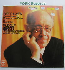 61915 - BEETHOVEN - Piano Concerto No 1 SERKIN / ORMANDY - Ex Con LP Record