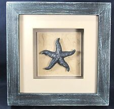 Starfish Shadow Box Nautical Sea Life Wall Art Home Decor