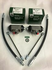 Land Rover Series SWB 2,2a,3 RHS & LHS Front Wheel Cylinders & Brake Pipe & Hose