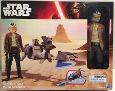 Star Wars The Force Awakens 12-inch Speeder Bike with Action Figure!