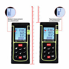 40m/131ft/1575in Digital Laser Distance Meter Range Finder Measure Diastimeter