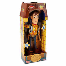 "16"" WOODY Talk Doll Disney Toy Story 3 Pull String Figure Sheriff Toy XMas Gift"