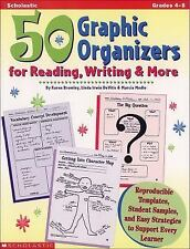 50 Graphic Organizers for Reading, Writing and More : Reproducible Templates,...