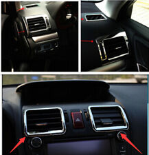 6*Chrome Interior Air Condition Vent Cover Trim For Subaru Forester 2013 2014