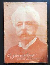 1908 IL GIORNALINO DELLA DOMENICA in morte di Edmondo De Amicis
