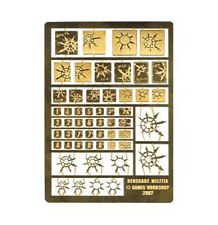 40k Forgeworld Renegade Milita Horus Heresy etched brass Chaos space marines