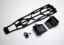 XTREME RACING TRAXXAS STAMPEDE 2WD BLACK EXTENDED ALUMINUM CHASSIS XTR1502ALBK