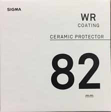 Sigma 82mm WR Ceramic Protector Filter Code: AFH9E0, In London