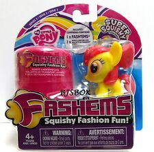 My Little Pony Fashems Apple Bloom Series 3 Super Squishy Fun With Case New