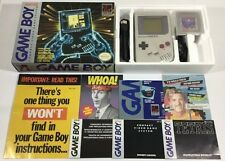 Original Nintendo GameBoy System Console in Box Tetris 100% Complete Tested Ex++