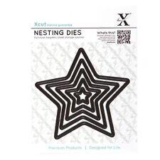 Docrafts Xcut Nesting Cutting Dies - Star - 5pc XCU503400