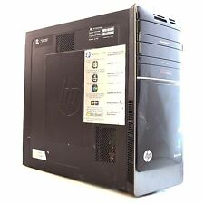 HP Pavilion P7-1154 AMD Quad 2.4GHz 8GB 500GB Windows 7 Desktop Tower PC 867