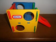 Vintage Little Tikes Dollhouse Miniature Jungle Gym Play Cube Activity Slide~