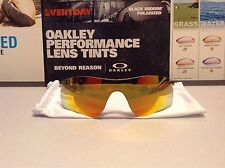 Oakley Radarlock Fire Iridium PATH Replacement lens - Brand NEW SKU# 41-765