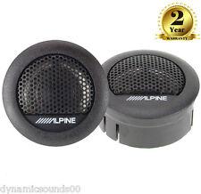 """Alpine SXE-1006TW 1"""" 3cm 280 Watts Car & Van Tweeters Speaker"""