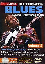 LICK LIBRARY ULTIMATE BLUES JAM SESSION Learn to Play Solo Tracks  GUITAR DVD 2
