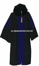 Doctoral Gown, Velvet Tam and Tassel