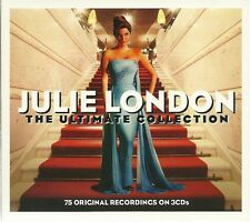 JULIE LONDON THE ULTIMATE COLLECTION - 3 CD BOX SET - ORIGINAL RECORDINGS