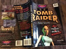 Tomb Raider Game Secrets 1996 Used Free US Shipping unlock the mysteries