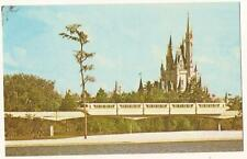 Vintage WALT DISNEY WORLD Postcard Monorail 3x5 01110242 dp 87164 Unused