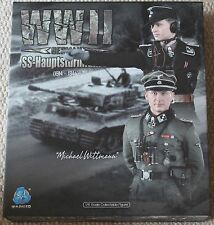 did action figure German Tanker Wittmann 1/6 12'' boxed hot toy ww11 dragon