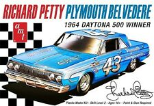 AMT Richard Petty 1964 Plymouth Belvedere NASCA stock car model kit 1/25