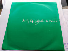 SINGLE DUSTY SPRINGFIELD - IN PRIVATE - PARLOPHONE UK 1989 VG+