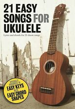 21 Easy Songs For Ukulele Beginners Learn to Play Music Book Hits POP BEATLES