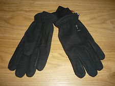 RSL Everyday horse  Riding Gloves, Black new size small adult womens mens jockey