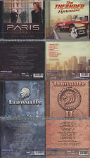 4 CD, paris-Only One Life + theander expression + 2 x lionville (I + II) AOR