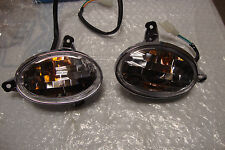 SET OF FRONT TURN SIGNALS FOR 150CC GY6 SCOOTER MOPED VITACCI RETRO 33450-LKA3