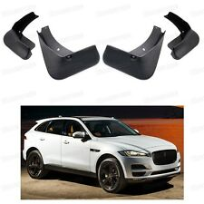 4 Mud Flaps Splash Guard Fender Car Mudguard for Jaguar F-Pace 2016-2017 Up