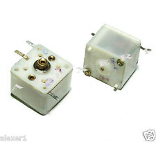 4x  Dual 5 - 285pF Russian USSR Variable Capacitor Total 570pF